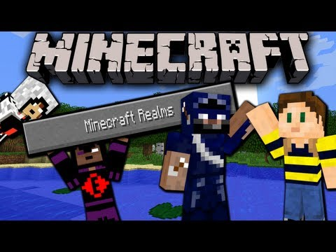 Realms - I was lucky enough to get invited to preview the upcoming server service from Mojang, Minecraft Realms, by a viewer! Already built into 1.5.2, I've been curi...