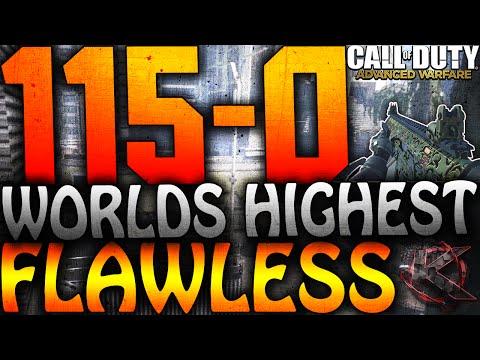 cod - COD Advanced Warfare - 115-0 WORLDS HIGHEST FLAWLESS IN ADVANCED WARFARE - 100+ FLAWLESS! (COD AW) ▻Gameplay: ...
