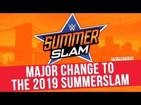 Major Change To The 2019 SummerSlam