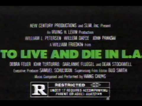 To Live And Die In LA TV Commercial [1985]