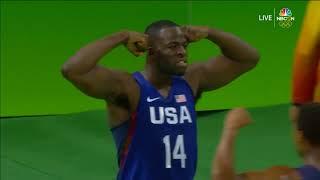 USA vs Australia | Full Game Highlights | Rio 2016 Olympics Basketball | Group A