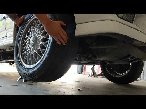 E30 325ix passenger side wheel resistance