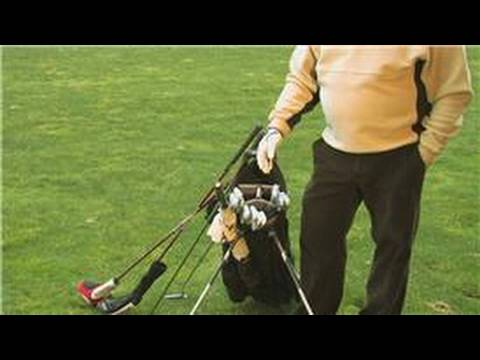 Golf Equipment : How to Organize Golf Clubs in a Bag
