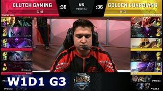 Video Clutch Gaming vs Golden Guardians | Week 1 Day 1 of S8 NA LCS Spring 2018 | CG vs GGS W1D1 G3 MP3, 3GP, MP4, WEBM, AVI, FLV Juni 2018