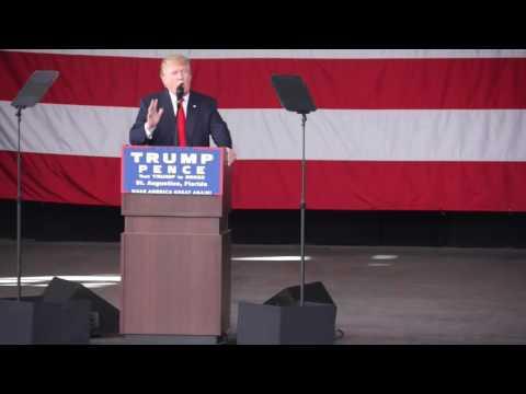 Trump rally: St. Augustine Amphitheatre