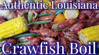 Video Authentic Louisiana Cajun Crawfish Boil 2018 MP3, 3GP, MP4, WEBM, AVI, FLV Maret 2019