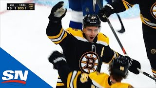 Patrice Bergeron Shows Off One Of Bruins Many Ways To Beat Teams by Sportsnet Canada