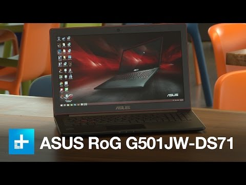 , title : 'ASUS ROG G501 Gaming Laptop - Hands-on Review'
