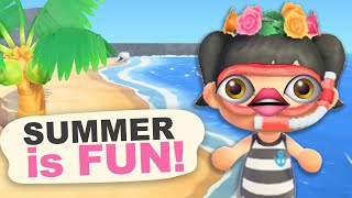 SUMMER is FUN in Animal Crossing New Horizons by iHasCupquake