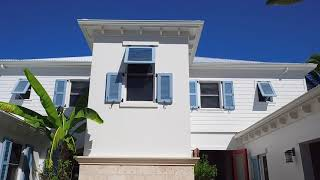 French Inspried Caribbean Canal Front Home