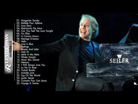 The Best Of Richard Clayderman   Richard Clayderman Playlist