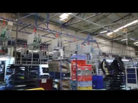 İlter Makina 90 Derece Konveyör Sistemleri