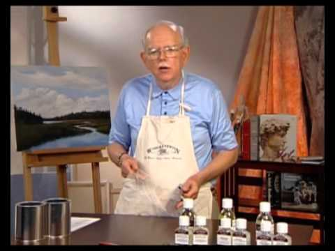 Using Liquin Mediums with Oil Colour plus How to Varnish an Oil Painting