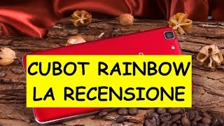 Video: Recensione Cubot Rainbow, ottimo Dual Sim Android  ...
