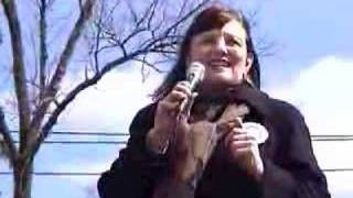 Matamoras (PA) United States  city images : Martha Lorin sings at Obama rally in Milford PA