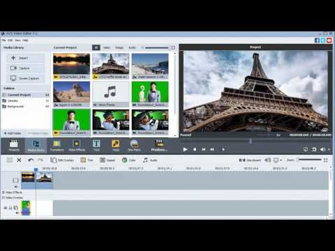 How to: Green Screen with AVS Video Editor [Breaky in Bed]