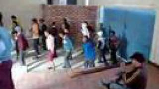 Klawer South Africa  City new picture : Line dance practise with didgeridoo in South Africa