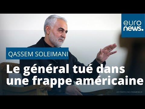 Le général iranien Soleimani  tué par les Etats-Unis dans un bombardement