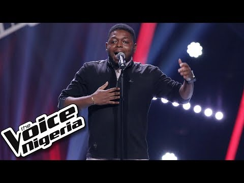"Daniel James sings ""Here and Now"" / Blind Auditions / The Voice Nigeria Season 2"