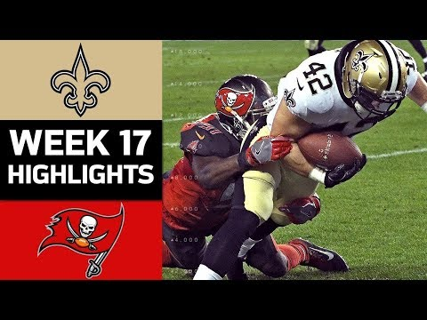 Video: Saints vs. Buccaneers | NFL Week 17 Game Highlights