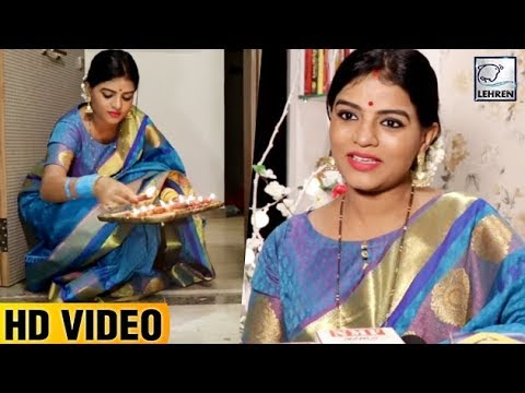 Afsar Bitiya Actress Mitaali Nag Celebrates Diwali | FULL VIDEO
