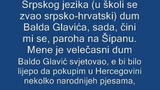 Presudu hrvatskom jeziku je donela hrvatska intelektualna elita u devetnaestom stoleću, kad je odlučila da se odrekne svog maternjeg (hrvatskog) jezika i u ...