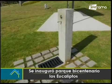 Se inauguró parque bicentenario los Eucaliptos