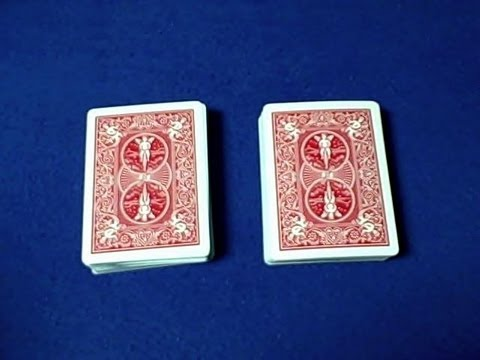 cardtrickteacher - Amazing easy double deck prediction card trick revealed. Watch Performance First http://www.youtube.com/watch?v=ajgrZzQUVmQ THUMBS UP for Female Magicians AN...