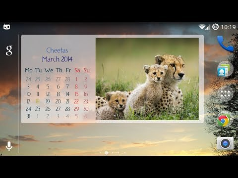 Video of Picture Calendar 2014