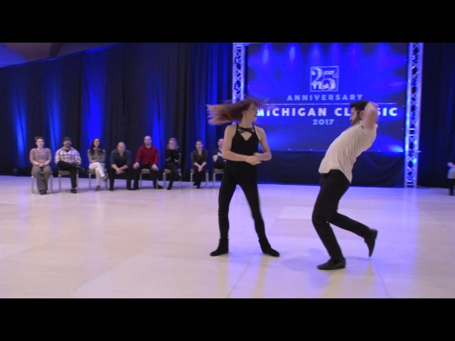 MiC 2017 All Star Pro Strictly Swing Ben Morris & Alyssa Glanville