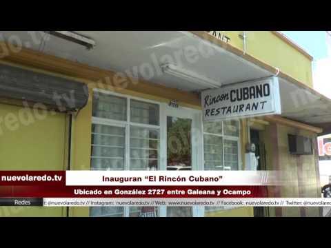 """Inauguran """"El Rincón Cubano"""" (видео)"""