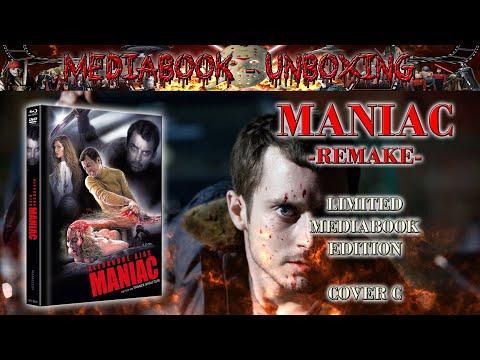 Unboxing - MANIAC (2012) - Cover C - Mediabook - Nameless Media