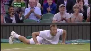 Match point: Pospisil&Sock win the men's doubles - Wimbledon 2014