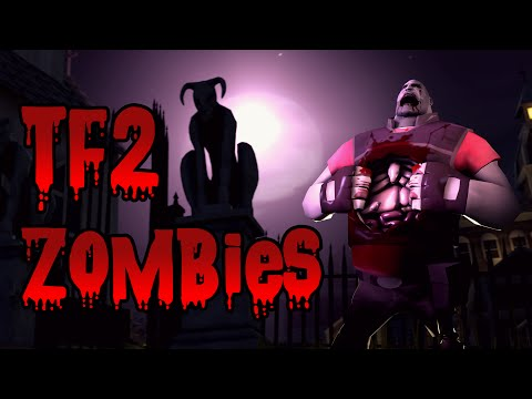 TF2 Zombies! The Undead Return! Trainsaw Laser Arena!