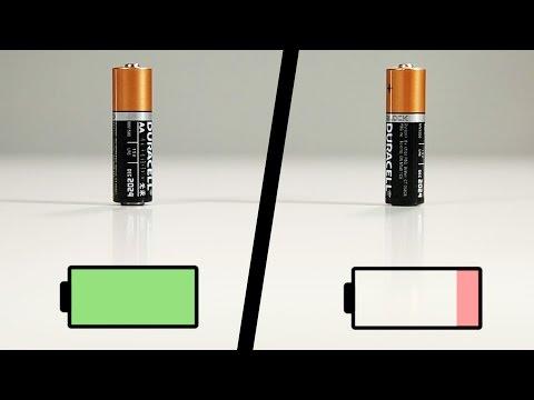 好神奇!一秒知道乾電池有沒有電的秘技!