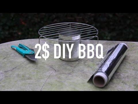 實用DIY妙招,幾個簡單步驟,即可自製小型的烤肉架!