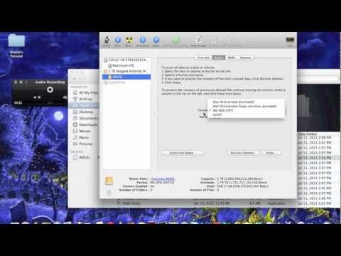 How to make any External Hard Drive work on Mac OS X