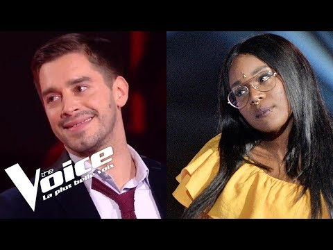Louise Attaque - J't'emmène | Karolyn vs Edouard Edouard | The Voice France 2018 | Duels