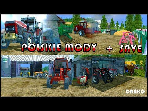 Polskie mody - FS13 (Modpack + save) v1.0