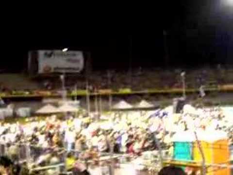 Los preparativos del concierto de Shakira en Colombia