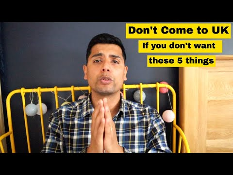 Don't Come To UK If You Don't want these| Students must watch this Video| Student Help UK