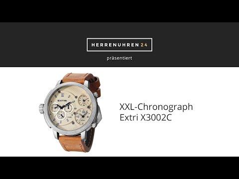 XXL-Uhr Extri X3002 im Test und Review