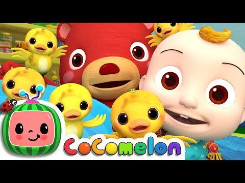 The Duck Hide And Seek Song | Cocomelon Nursery Rhymes & Kids Songs