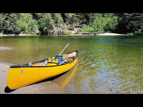 6 Day Wilderness Canoe Camping Trip on a Beautiful River!!