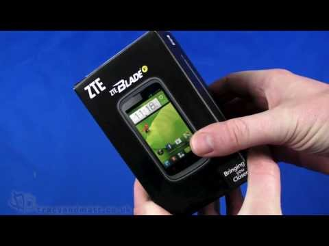 ZTE Blade V unboxing and demo