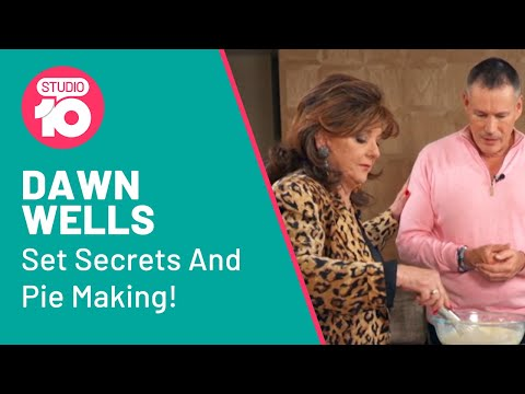 'Gilligan's Island' Star Dawn Wells Talks Set Secrets And Makes Coconut Cream Pie   Studio 10