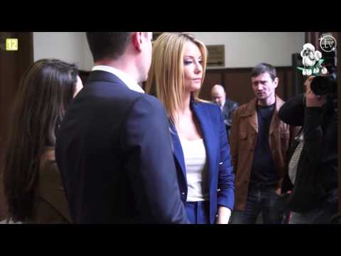 Małgorzata Rozenek zdenerwowana w sądzie