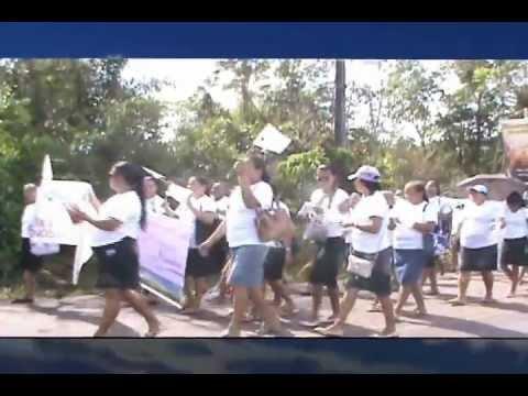 Caminhada Proclamai realizada pela AD em Genipaúba - Sta. Bárbara do Pará