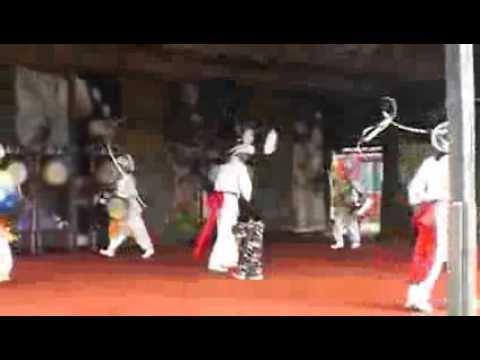 濟州民俗村民俗舞表演