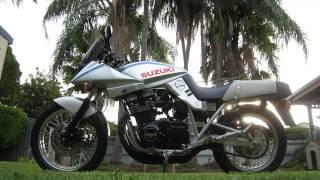 Bild Suzuki GSX 1100 Katana – restauriert und gefahren